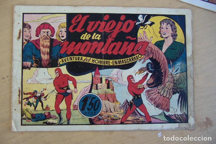 Tebeos: hispano americana, lote hombre enmascarado, ver - Foto 3 - 68017673