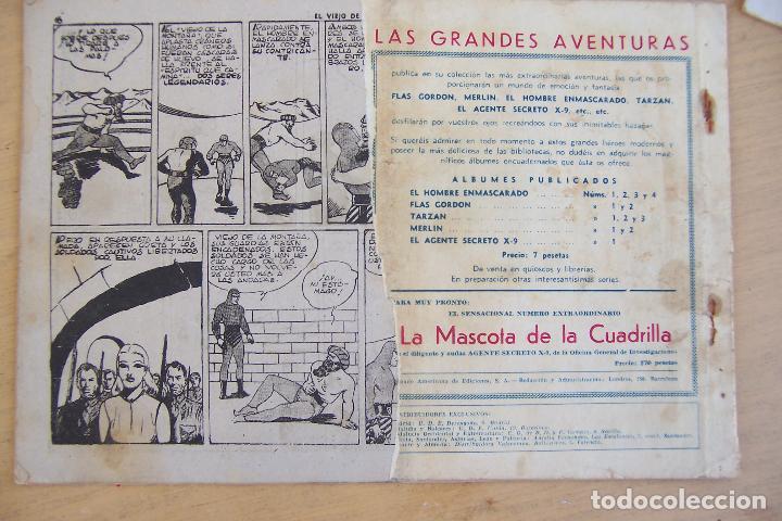 Tebeos: hispano americana, lote hombre enmascarado, ver - Foto 6 - 68017673