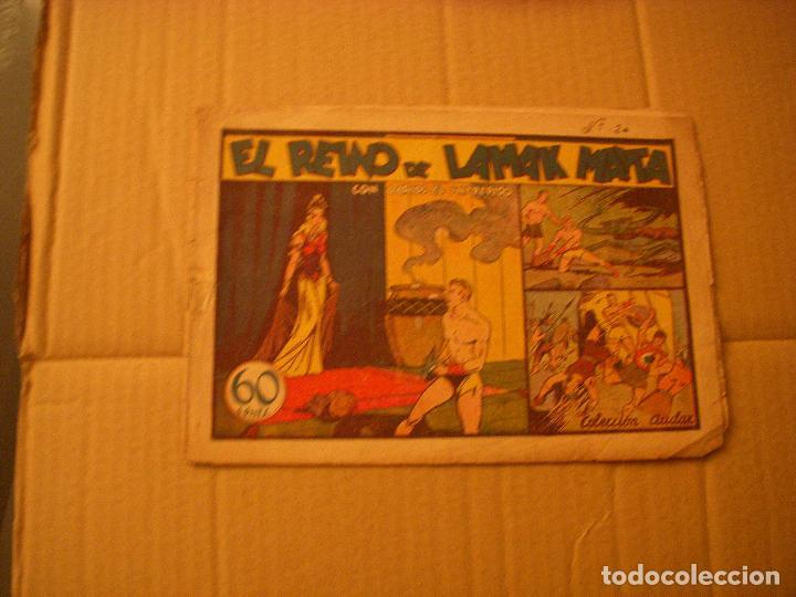 CARLOS EL INTRÉPIDO, EL REINO DE LAMAK MAYTA, 60 CENTS, EDITORIAL HISPANO AMERICANA (Tebeos y Comics - Hispano Americana - Carlos el Intrépido)