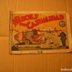 Livros de Banda Desenhada: HÉROES POR CASUALIDAD, COLECCIÓN AUDAZ, 60 CTS, EDITORIAL HISPANO AMERICANA. Lote 68333233