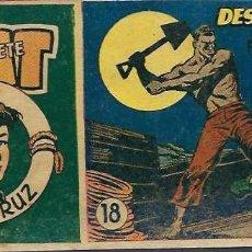 Tebeos: NAT EL GRUMETE Nº 18 - DESEMBARCO FORZOSA - HISPANOAMERICANA 1953 - ORIGINAL - RARO. Lote 68550533
