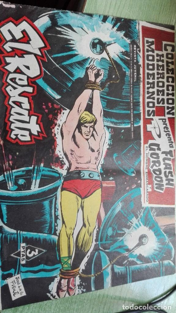 TEBEO DE FLASH GORDON COLECCION HEROES MODERNOS 1958 BUEN ESTADO (Tebeos y Comics - Hispano Americana - Flash Gordon)