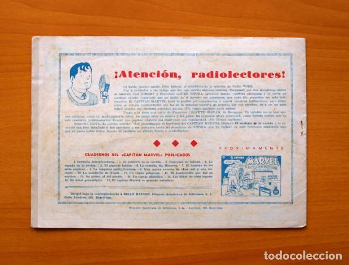 Tebeos: El Capitán Marvel - nº 17, es armado caballero - Editorial Hispano Americana 1947 - Foto 5 - 68795173