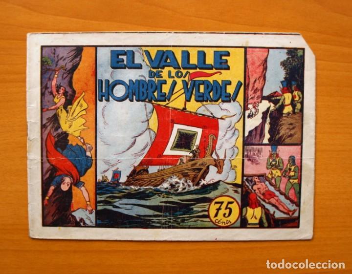 CARLOS EL INTRÉPIDO, Nº 6 - EL VALLE DE LOS HOMBRES VERDES - HISPANO AMERICANA 1942 (Tebeos y Comics - Hispano Americana - Carlos el Intrépido)