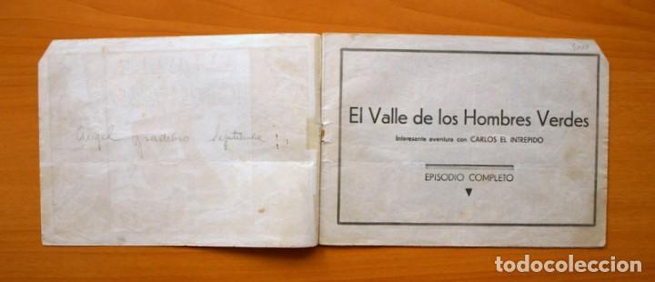 Tebeos: Carlos el Intrépido, nº 6 - El valle de los hombres verdes - Hispano Americana 1942 - Foto 2 - 68795229