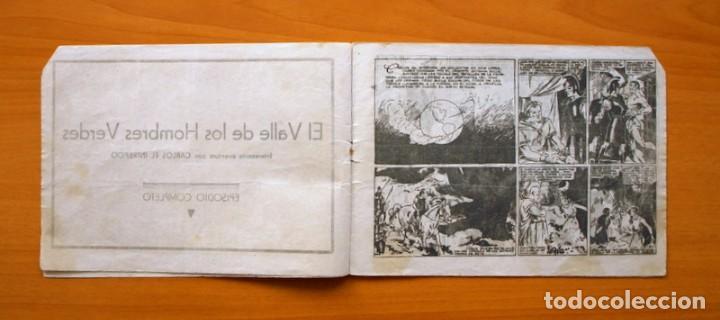 Tebeos: Carlos el Intrépido, nº 6 - El valle de los hombres verdes - Hispano Americana 1942 - Foto 3 - 68795229