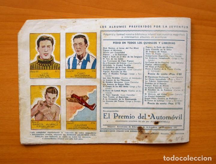 Tebeos: Carlos el Intrépido, nº 6 - El valle de los hombres verdes - Hispano Americana 1942 - Foto 6 - 68795229