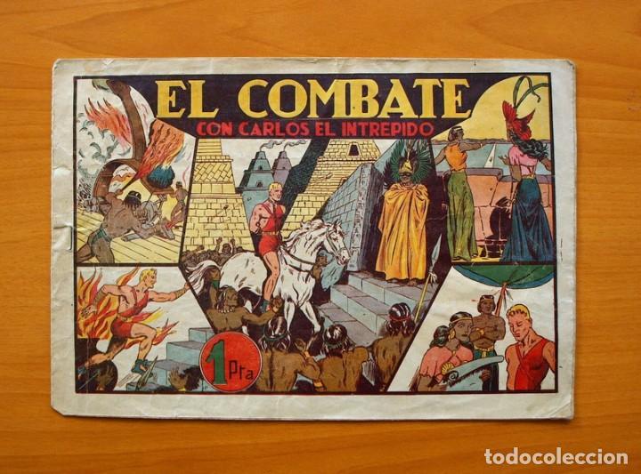 CARLOS EL INTRÉPIDO, Nº 10 EL COMBATE - EDITORIAL HISPANO AMERICANA 1942 (Tebeos y Comics - Hispano Americana - Carlos el Intrépido)