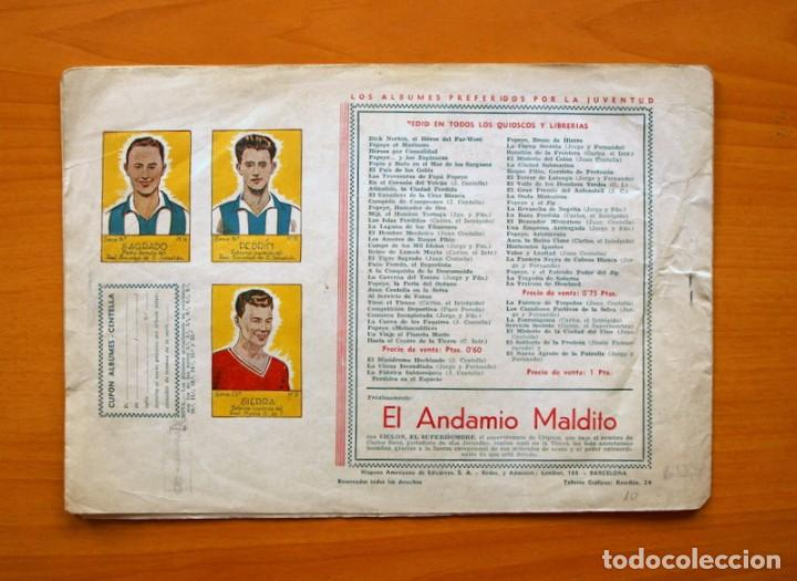 Tebeos: Carlos el Intrépido, nº 10 El combate - Editorial Hispano Americana 1942 - Foto 5 - 68796973