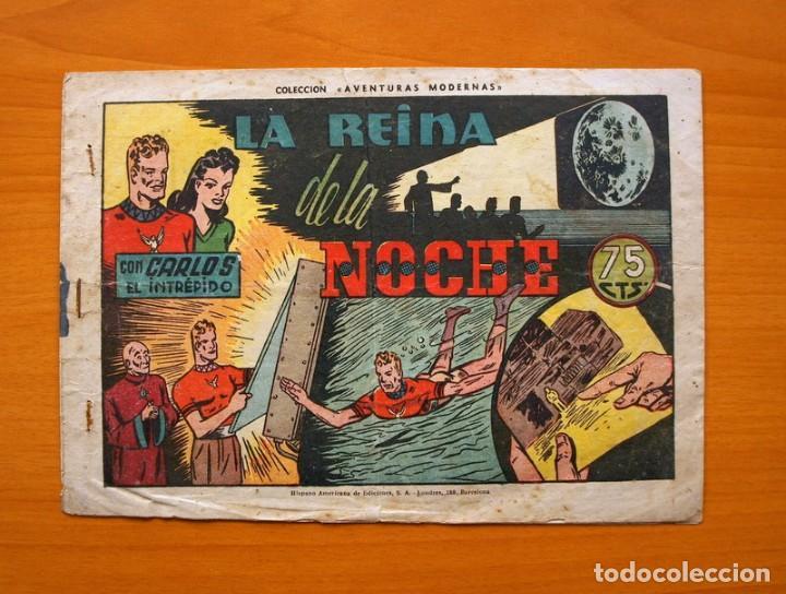 CARLOS EL INTRÉPIDO, Nº 42 LA REINA DE LA NOCHE - EDITORIAL HISPANO AMERICANA 1942 (Tebeos y Comics - Hispano Americana - Carlos el Intrépido)