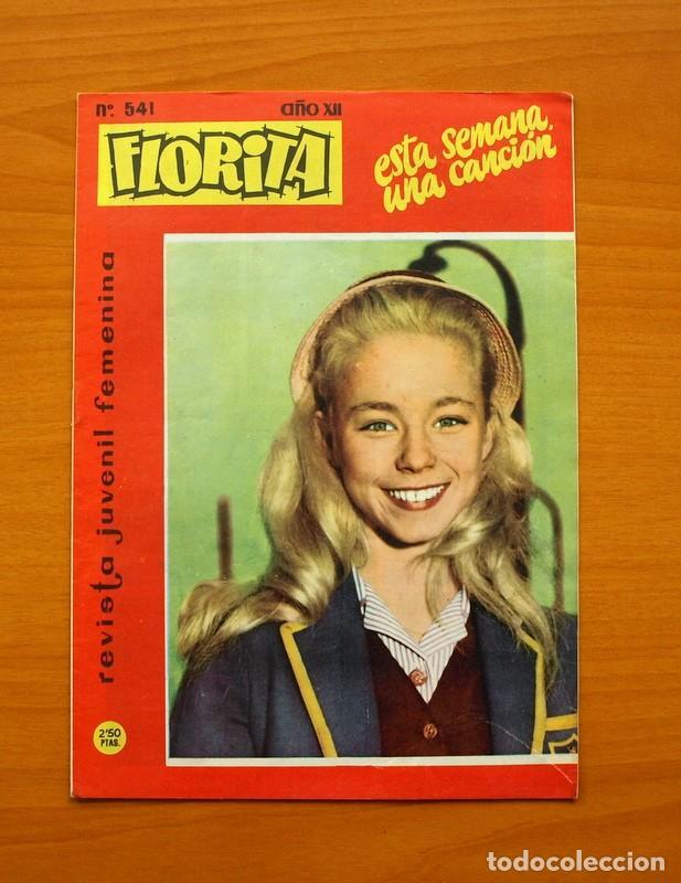 FLORITA, Nº 541 - EDITORIAL HISPANO AMERICANA 1958 (Tebeos y Comics - Hispano Americana - Otros)