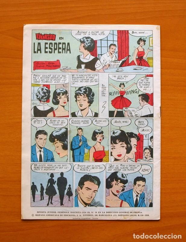 Tebeos: Florita, nº 541 - Editorial Hispano Americana 1958 - Foto 7 - 68797213