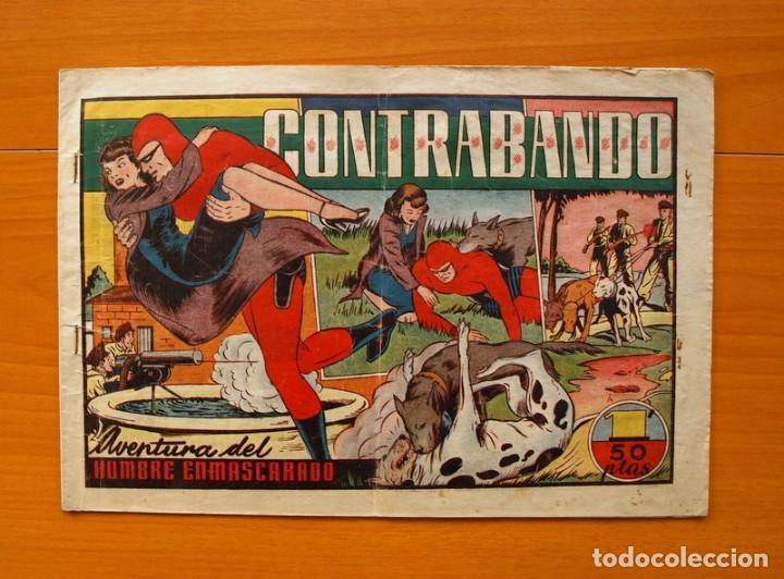 EL HOMBRE ENMASCARADO, Nº 39 - CONTRABANDO - EDITORIAL HISPANO AMERICANA 1941 (Tebeos y Comics - Hispano Americana - Hombre Enmascarado)