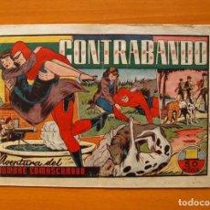 Tebeos: EL HOMBRE ENMASCARADO, Nº 39 - CONTRABANDO - EDITORIAL HISPANO AMERICANA 1941. Lote 68797541