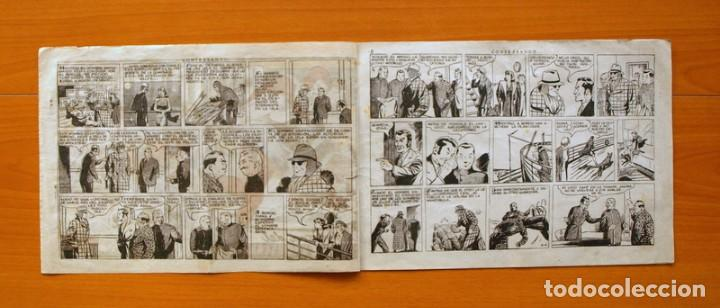 Tebeos: El hombre enmascarado, nº 39 - Contrabando - Editorial Hispano Americana 1941 - Foto 2 - 68797541