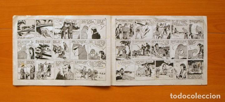 Tebeos: El hombre enmascarado, nº 39 - Contrabando - Editorial Hispano Americana 1941 - Foto 3 - 68797541