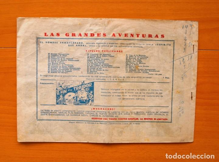 Tebeos: El hombre enmascarado, nº 39 - Contrabando - Editorial Hispano Americana 1941 - Foto 5 - 68797541