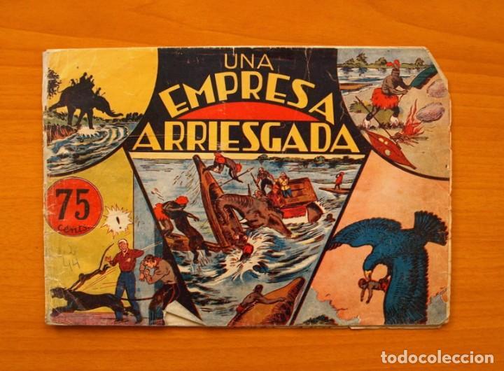 JORGE Y FERNANDO, Nº 26 UNA EMPRESA ARRIESGADA - EDITORIAL HISPANO AMERICANA 1940 (Tebeos y Comics - Hispano Americana - Jorge y Fernando)
