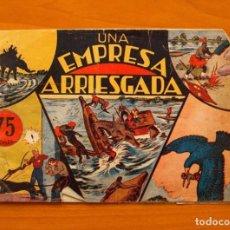 Tebeos: JORGE Y FERNANDO, Nº 26 UNA EMPRESA ARRIESGADA - EDITORIAL HISPANO AMERICANA 1940. Lote 68798045