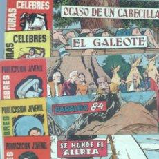 Tebeos: AVENTURAS CELEBRES ORIGINALES NºS -6,13,27,38,115,116 -MARTÍNEZ - RIPOLL G. - JULIO VERNE,STEVENSON. Lote 69304825