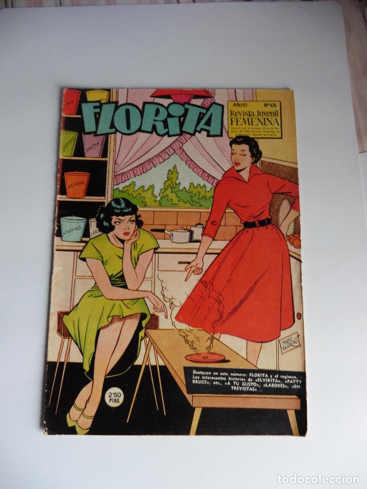 FLORITA Nº 476 ORIGINAL (Tebeos y Comics - Hispano Americana - Otros)