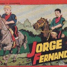 Tebeos: COLECCION JORGE Y FERNANDO Nº4.HISPANO AMERICANA DE EDICIONES,4 PESETAS.. Lote 69497581