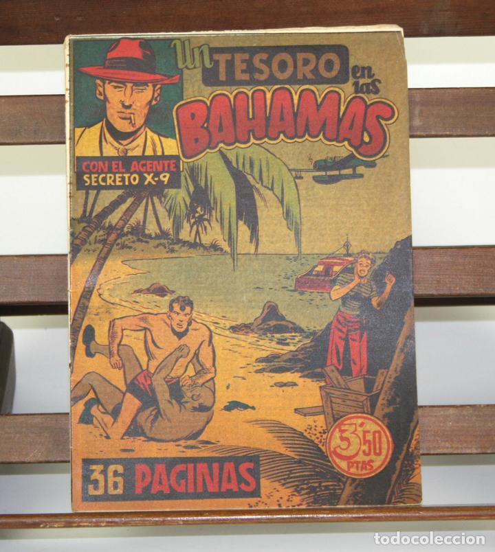 8013 - UN TESORO EN LAS BAHAMAS. EDIC. HISPANO AMERICANA. AÑOS 40. (Tebeos y Comics - Hispano Americana - Otros)
