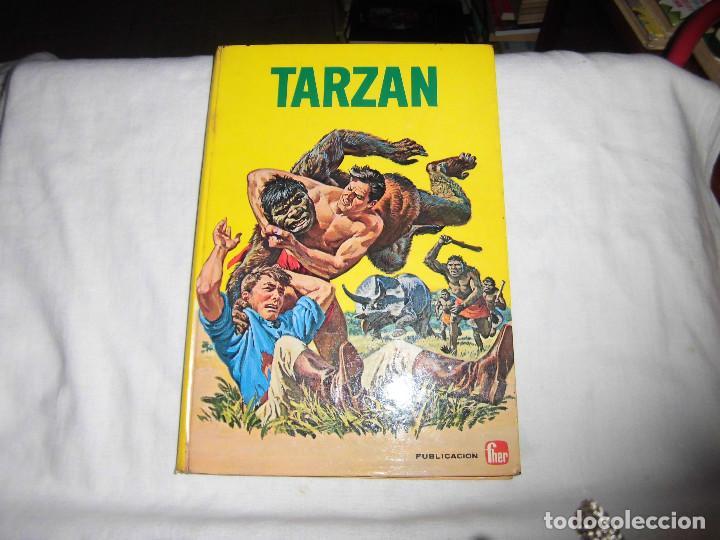 TARZAN AVENTURA EN EL TEMPLO DE THOTH.EDITORIAL FHER 1968 (Tebeos y Comics - Hispano Americana - Tarzán)