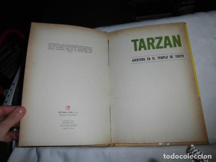 Tebeos: TARZAN AVENTURA EN EL TEMPLO DE THOTH.EDITORIAL FHER 1968 - Foto 3 - 69967457