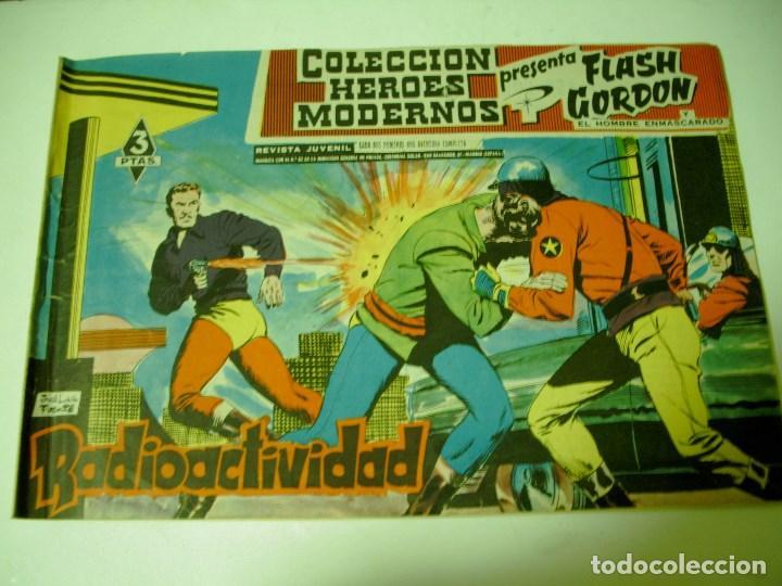 HEROES MODERNOS FLASH GORDON RADIOACTIVIDAD (Tebeos y Comics - Hispano Americana - Flash Gordon)