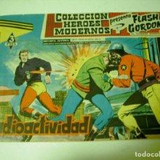 Tebeos: HEROES MODERNOS FLASH GORDON RADIOACTIVIDAD. Lote 70077189