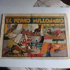 Tebeos: JUAN Y LUIS Nº 4 EL PERRO MILLONARIO HISPANOAMERICANA ORIGINAL. Lote 70227701