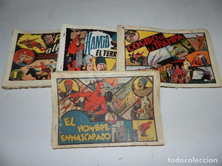 (M6) EL HOMBRE ENMASCARADO ( CASI COMPLETA, FALTAN 11 NUM ) LOTE DE 94 NUMEROS, HISPANO AMERICANA (Tebeos y Comics - Hispano Americana - Hombre Enmascarado)
