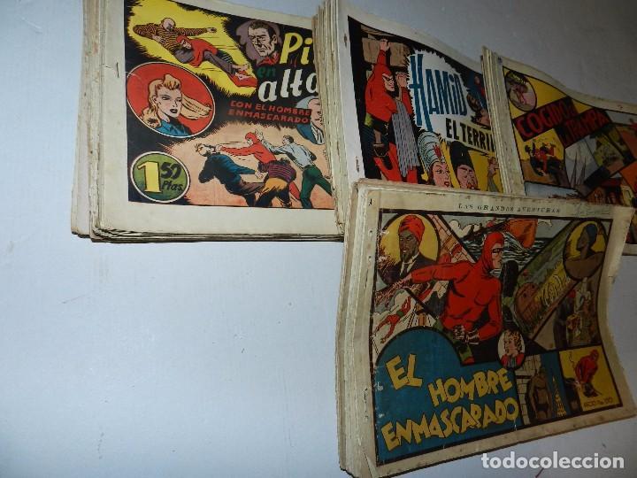 Tebeos: (M6) EL HOMBRE ENMASCARADO ( CASI COMPLETA, FALTAN 11 NUM ) LOTE DE 94 NUMEROS, HISPANO AMERICANA - Foto 2 - 71022437