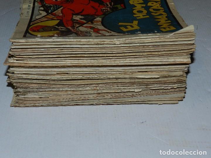 Tebeos: (M6) EL HOMBRE ENMASCARADO ( CASI COMPLETA, FALTAN 11 NUM ) LOTE DE 94 NUMEROS, HISPANO AMERICANA - Foto 3 - 71022437