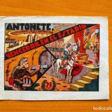 Tebeos: IGA - ANTOÑETE EL DECIDIDO -Nº 7-ANTOÑETE, VENCEDOR EN EL ESTADIO - EDITORIAL HISPANO AMERICANA 1943. Lote 71141785