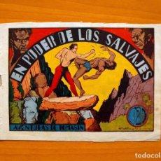 Tebeos: IGA - AVENTURAS DE TOMASIN - Nº3-EN PODER DE LOS SALVAJES - EDITORIAL HISPANO AMERICANA 1943. Lote 71154937