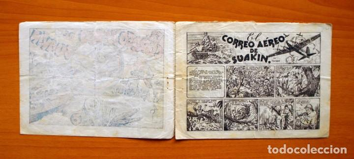 Tebeos: IGA - Avent. del Cadete Federico - nº 2-El correo aereo de Suakin - Editorial Hispano Americana 1943 - Foto 2 - 71155037