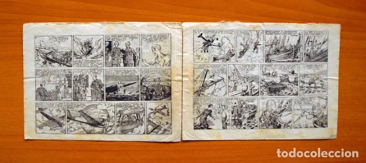 Tebeos: IGA - Avent. del Cadete Federico - nº 2-El correo aereo de Suakin - Editorial Hispano Americana 1943 - Foto 3 - 71155037