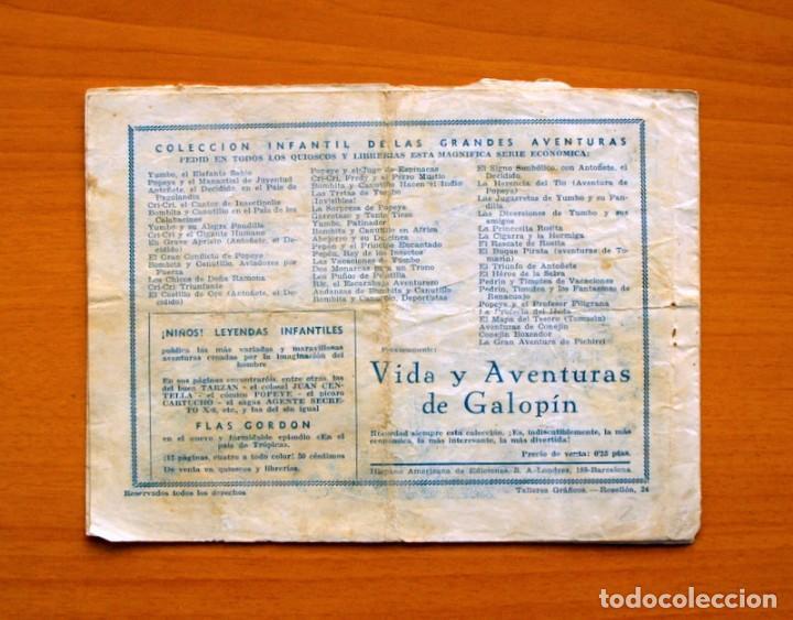 Tebeos: IGA - Avent. del Cadete Federico - nº 2-El correo aereo de Suakin - Editorial Hispano Americana 1943 - Foto 5 - 71155037