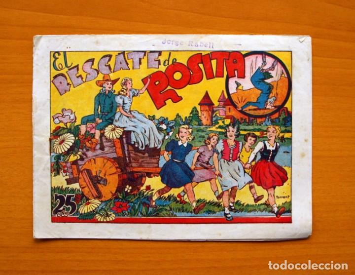 IGA - ROSITA - EL RESCATE DE ROSITA - EDITORIAL HISPANO AMERICANA 1943 (Tebeos y Comics - Hispano Americana - Otros)