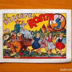 Tebeos: IGA - ROSITA - EL RESCATE DE ROSITA - EDITORIAL HISPANO AMERICANA 1943. Lote 71157265