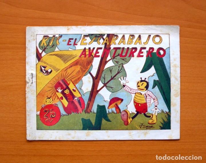 IGA - RIC, EL ESCARABAJO AVENTURERO - EDITORIAL HISPANO AMERICANA 1943 (Tebeos y Comics - Hispano Americana - Otros)