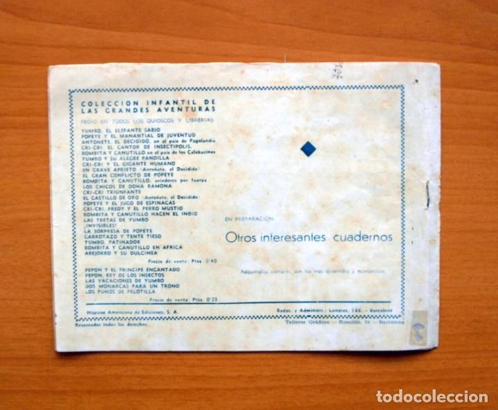 Tebeos: IGA - Ric, el escarabajo aventurero - Editorial Hispano Americana 1943 - Foto 5 - 71157541