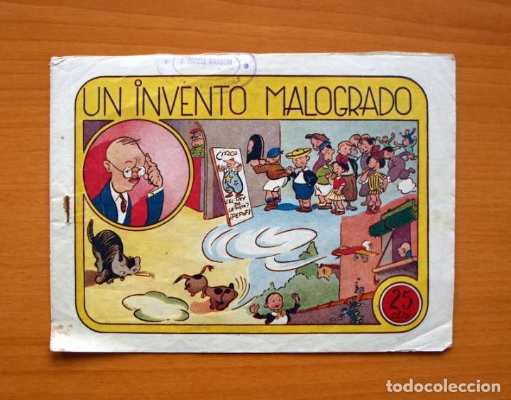 IGA - UN INVENTO MALOGRADO - EDITORIAL HISPANO AMERICANA 1943 (Tebeos y Comics - Hispano Americana - Otros)