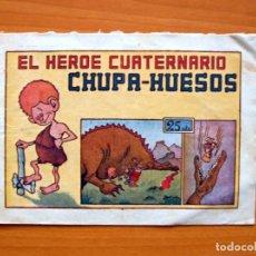 Tebeos: IGA - EL HÉROE CUATERNARIO CHUPA-HUESOS - EDITORIAL HISPANO AMERICANA 1943. Lote 71158801