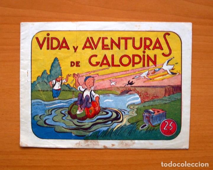 IGA - VIDA Y AVENTURAS DE GALOPIN - EDITORIAL HISPANO AMERICANA 1943 (Tebeos y Comics - Hispano Americana - Otros)
