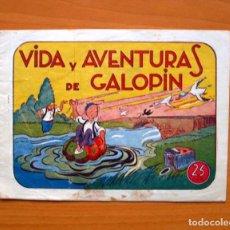 Tebeos: IGA - VIDA Y AVENTURAS DE GALOPIN - EDITORIAL HISPANO AMERICANA 1943. Lote 71159593