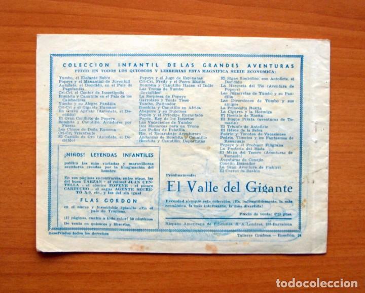 Tebeos: IGA - Vida y aventuras de Galopin - Editorial Hispano Americana 1943 - Foto 5 - 71159593