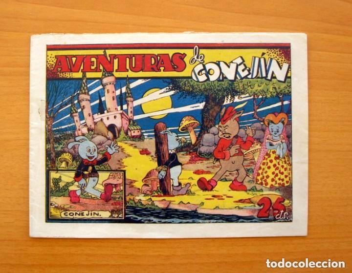 IGA - CONEJIN - Nº 1 - AVENTURAS DE CONEJIN - EDITORIAL HISPANO AMERICANA 1943 (Tebeos y Comics - Hispano Americana - Otros)